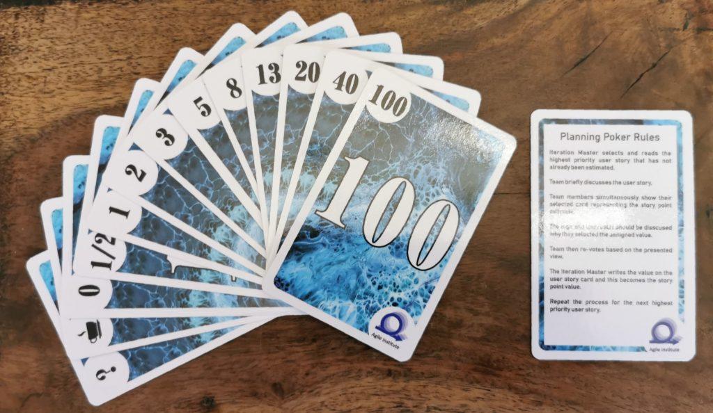 Estymowanie zadań przy pomocy kart Planning Poker