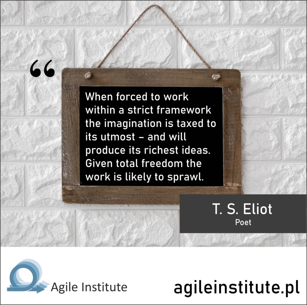 T. S. Eliot Quote