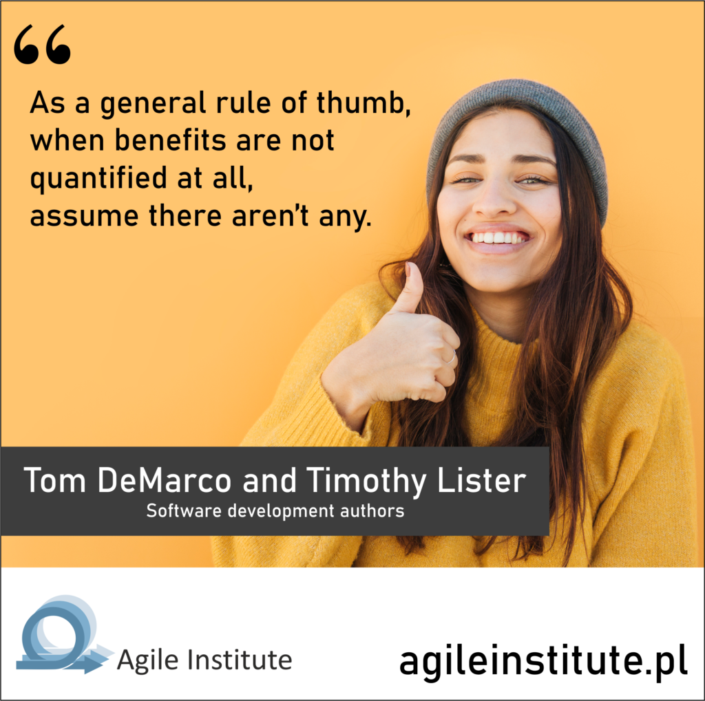 Tom DeMarco and Timothy Lister Quote