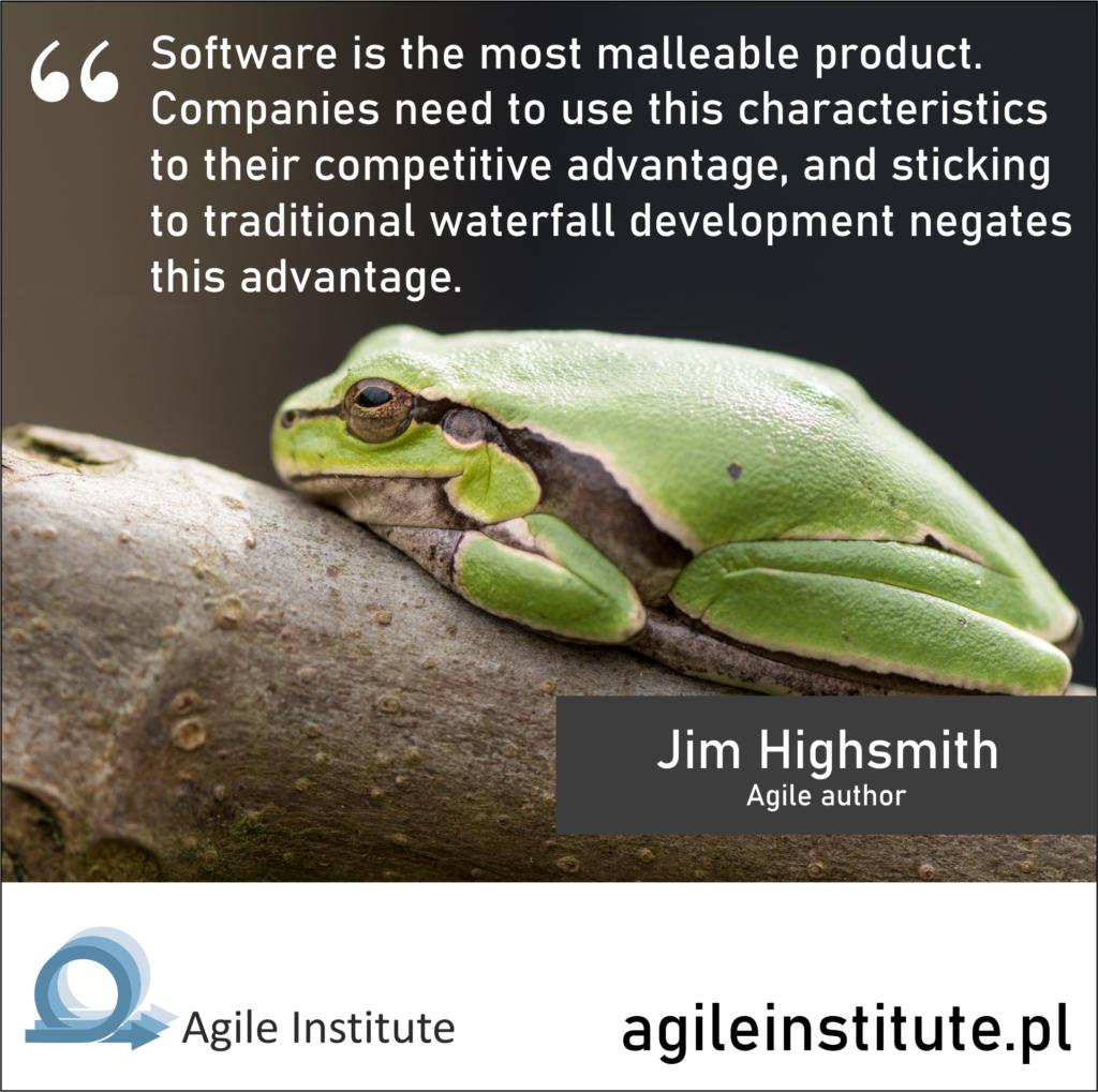 Jim Highsmith Quote