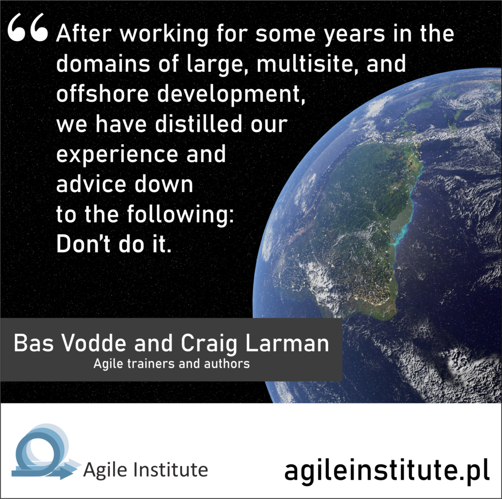 Bas Vodde and Craig Larman Quote