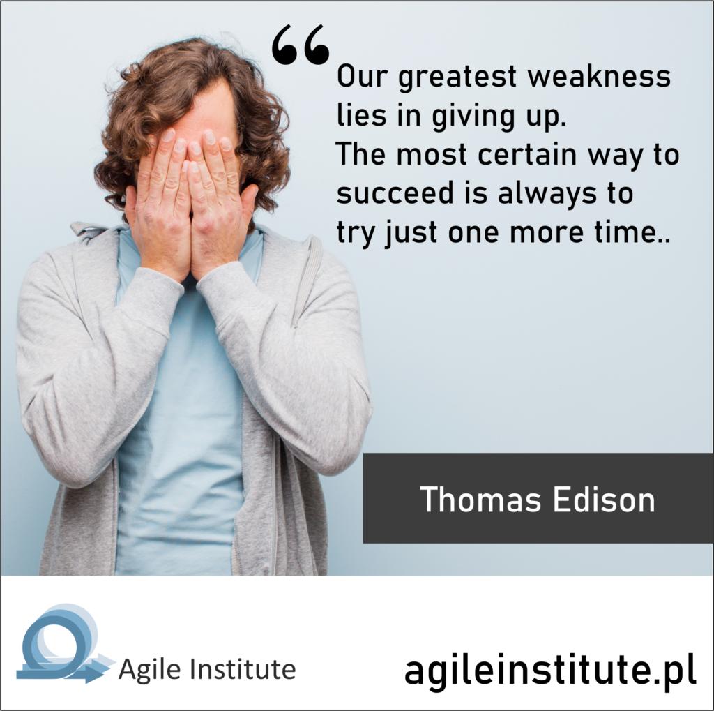 Quote of Thomas Edison