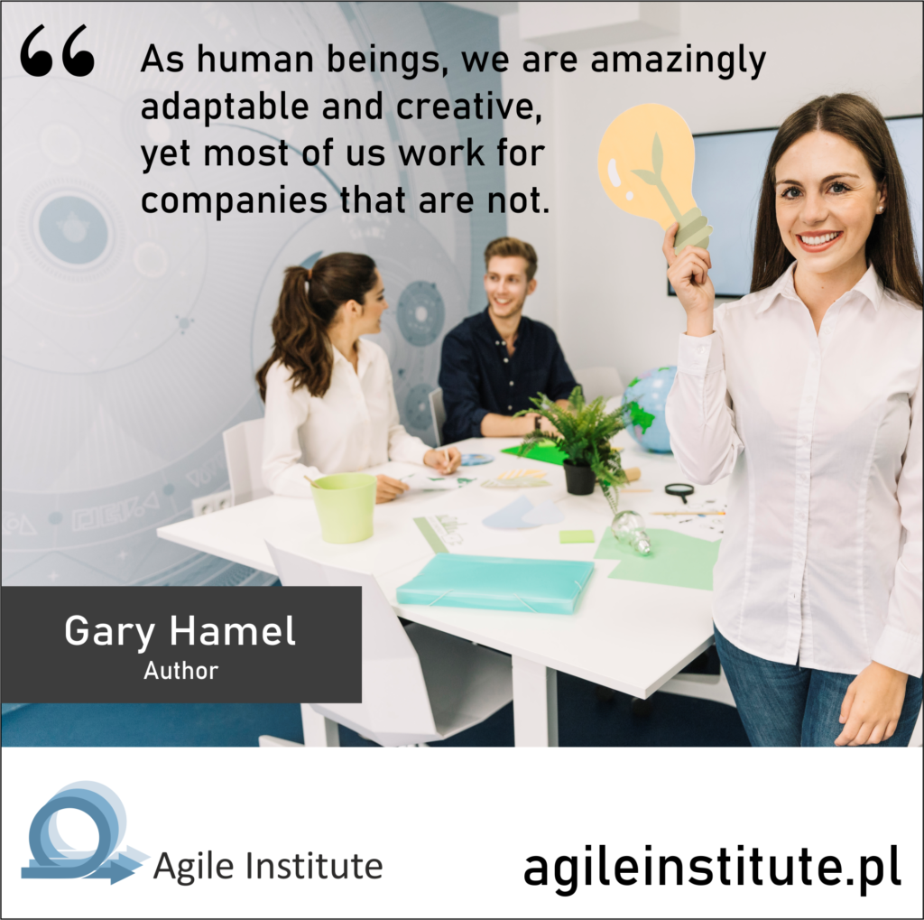 Quote of Gary Hamel