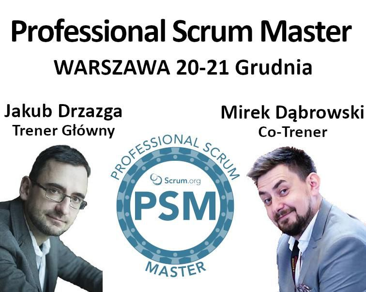 Szkolenie Professional Scrum Master I