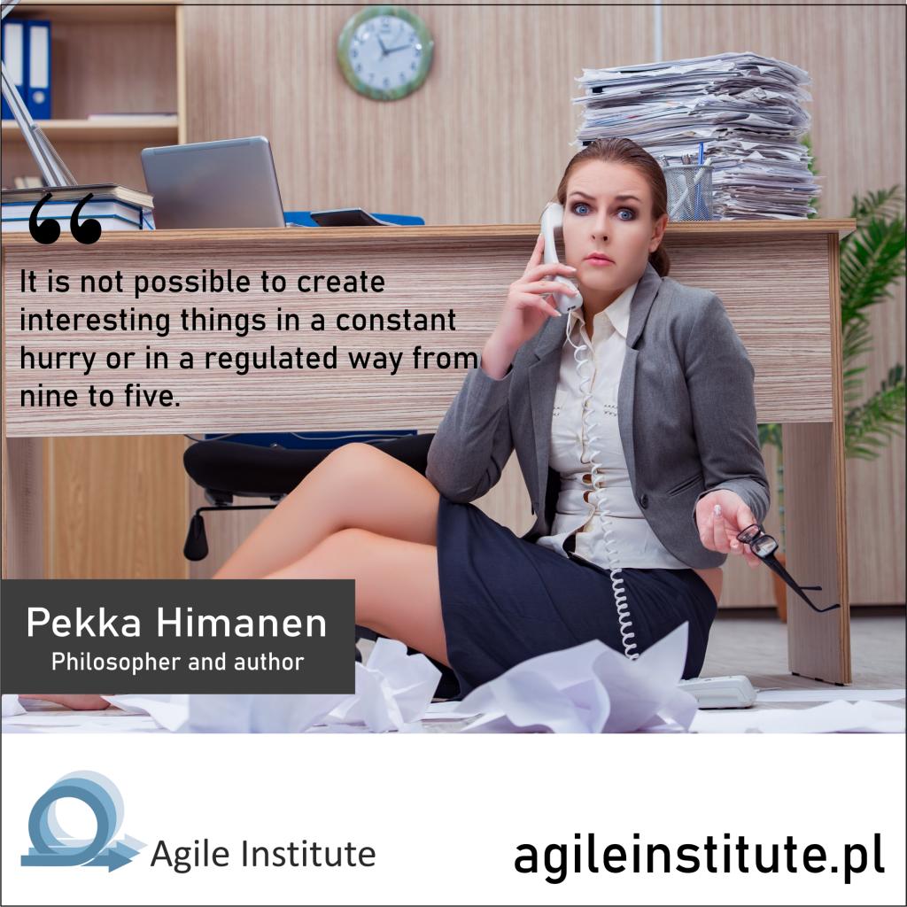 Quote of Pekka Himanen