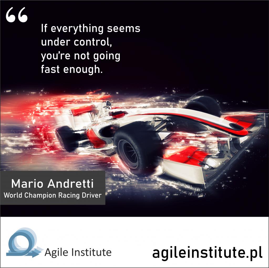 Quote of Mario Andretti