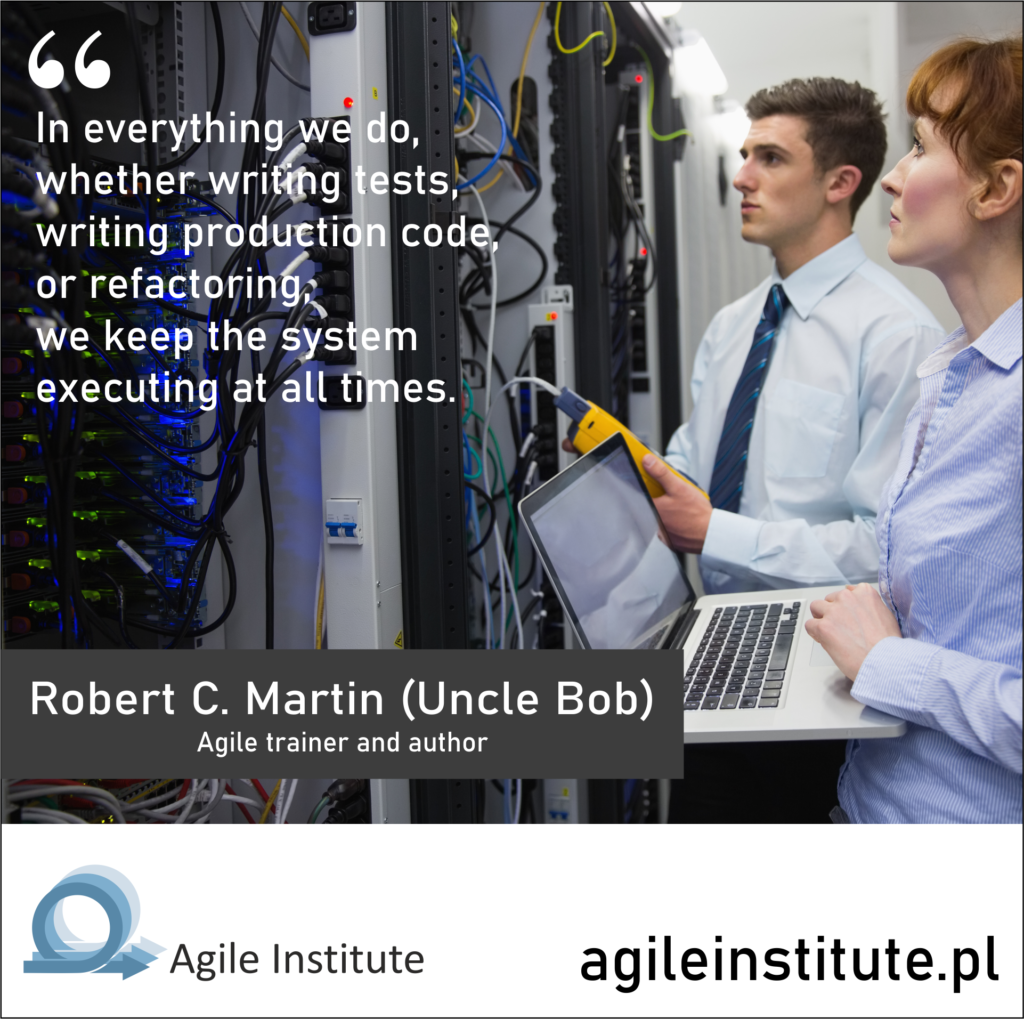 Quote from Robert C. Martin (Uncle Bob)