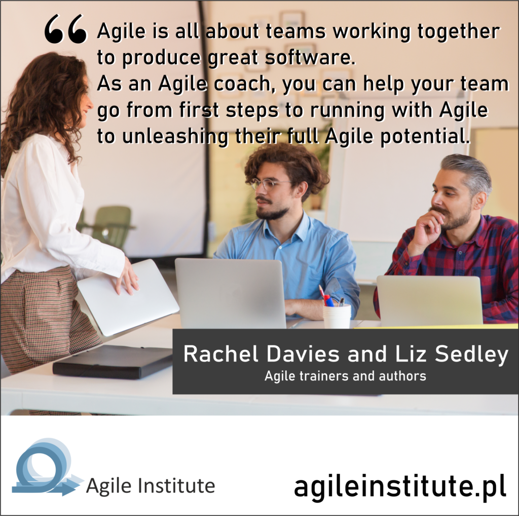 Quote from Rachel Davies and Liz Sedley