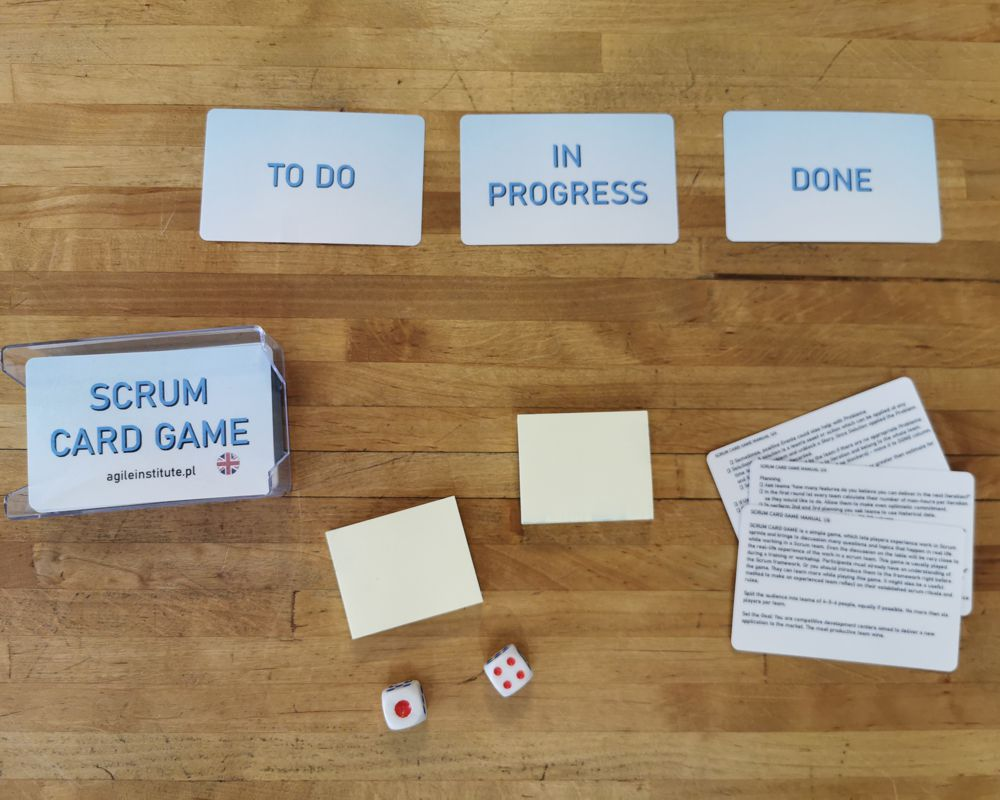 Scrum Card Game – english version