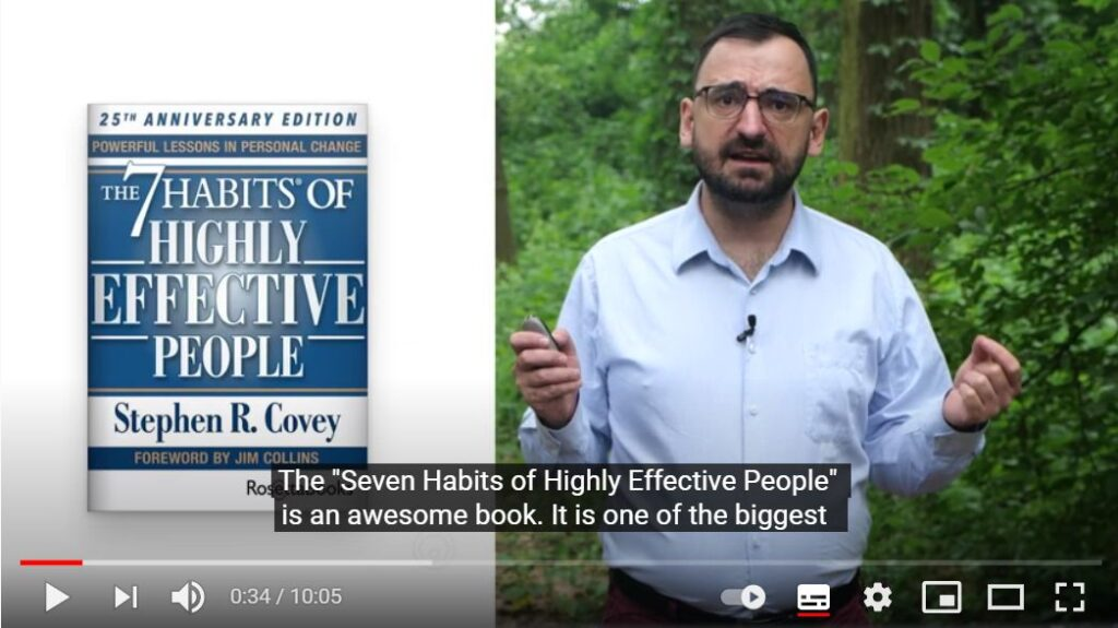 Inspire me, Jacob! – 7 Habits of Highly Effective Scrum Masters